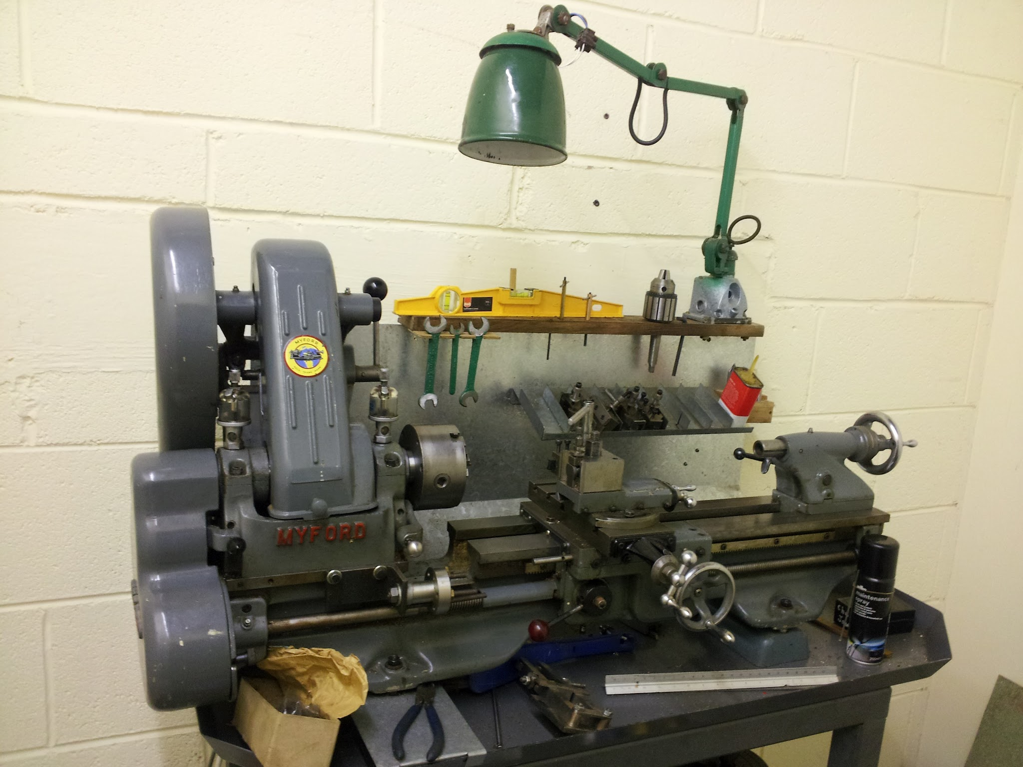 Myford ML 7 Lathe